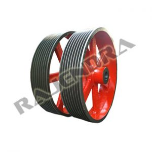 Self Cooling Pulleys