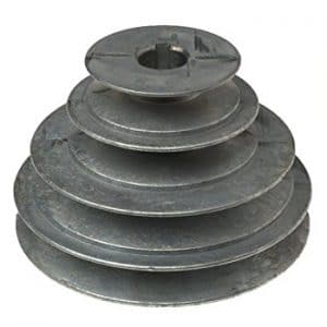 power plant pulley