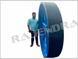 1800 pcd x 14 spc taper lock, Pulley Manufacturer In Indore